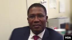 Mèt Camille Edouard Junior, ansyen minis jistis Ayiti a sou gouvènman provizwa Jocelerme Privert a.