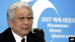 장웅 북한 국제올림픽위원회(IOC) 위원(자료사진)