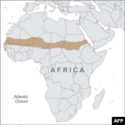 Bản đồ vùng Sahel