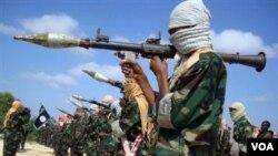 Seorang pria Somalia dinyatakan bersalah oleh pengadilan AS membantu kelompok teroris al-Shabab di Somalia (foto: dok).