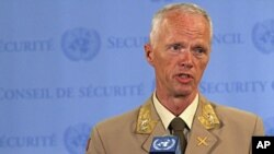Người đứng đầu phái bộ giám sát Liên hiệp quốc ở Syria, Thiếu tướng Robert Mood