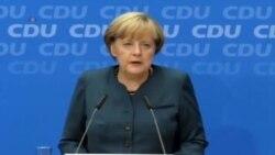 Abrumadora mayoría para Merkel, en Alemania