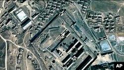 구글 어스를 이용해 본 북한 신의주 노동교화소 (자료사진).