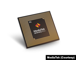 """联发科于8月18日推出其最新5G芯片""""天玑800U""""。(联发科提供)"""