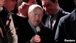 Béji Caïd Essebsi estime avoir remporté la présidentielle