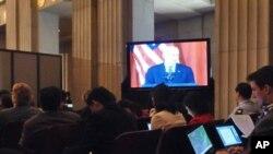 美国副总统拜登在第三轮S&ED开幕式致词
