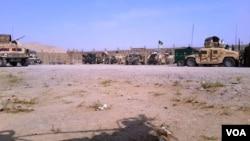 کمپ چینایی ها در ولسوالی غورماچ، ولایت فاریاب