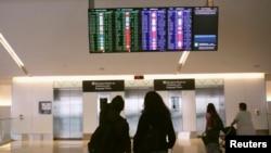 很多美國機場受到空管人員被強制休無薪假影響