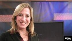 """Patricia fue presentadora en """"El mundo al día"""" y """"Artekultura"""" de la Voz de América."""