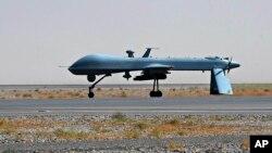 미군이 아프가니스탄에서 운영중인 공격용 드론 '프레데터'. (자료사진)