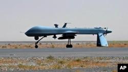 Pesawat nirawak (drone) AS yang beroperasi di perbatasan Pakistan-Afghanistan (foto: dok).
