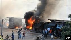 Les partisans de Laurent Gbagbo sont accusés d'avoir commis des actes de violence après la présidentielle de novembre 2010 en Côte d'Ivoire