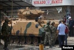 Afrin'de Türk askerleri