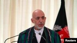 阿富汗總統卡爾札伊