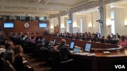 El resultado se dio gracias a 26 votos a favor, 3 en contray 4 abstenciones y una ausencia.