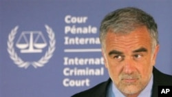 International Criminal Court Prosecutor Luis Moreno-Ocampo (File Photo)