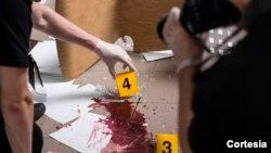 La mujer utilizó un revólver calibre .22 para dispararle a su novio tres veces en la cabeza y dos veces más en el pecho.
