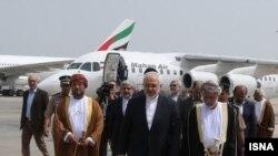 وزیر امور خارجه عمان در دیدار با محمد جواد ظریف وزیر امور خارجه جمهوری اسلامی ایران