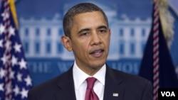 Obama dijo que el Congreso debe escuchar la voz de los estadounidenses.