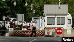 Casa Branca com acessos bloqueados