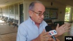El excontralor de la República,Agustín JarquínAnaya, conversó con la Voz de América sobre las sanciones recientes de EE.UU. a familiares del presidente Daniel Ortega.