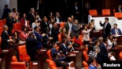 Parlamanterên HDP'ê li parlamana Tirkîyê (Arşîv)