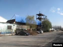 A shuttered ceramics factory in Zibo, Shandong province, China Nov. 23, 2017.