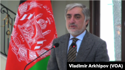 داکتر عبدالله عبدالله، رئیس اجرایی حکومت افغانستان