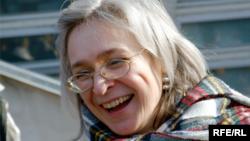 La journalistte Anna Politkovskaïa.