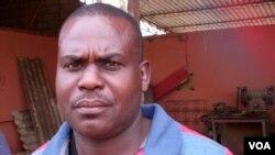 Angola Malanje primeiro secretario da comissao sindical da Mecanagro Manuel José Pinto