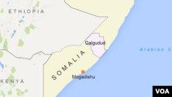 Yankin Galgudud na Somalia da sojoji suka kai samame