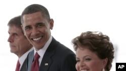 Presidente Obama no Brasil para visita de dois dias