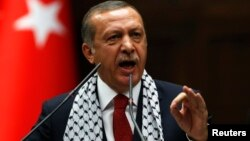 레제프 타이이프 에르도안 터키 총리