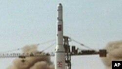 북한의 '은하 2호' 로켓 발사 (자료사진)