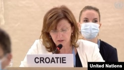 Her Excellency Vesna Batistic Kos Ambassador of Croatia to the UN