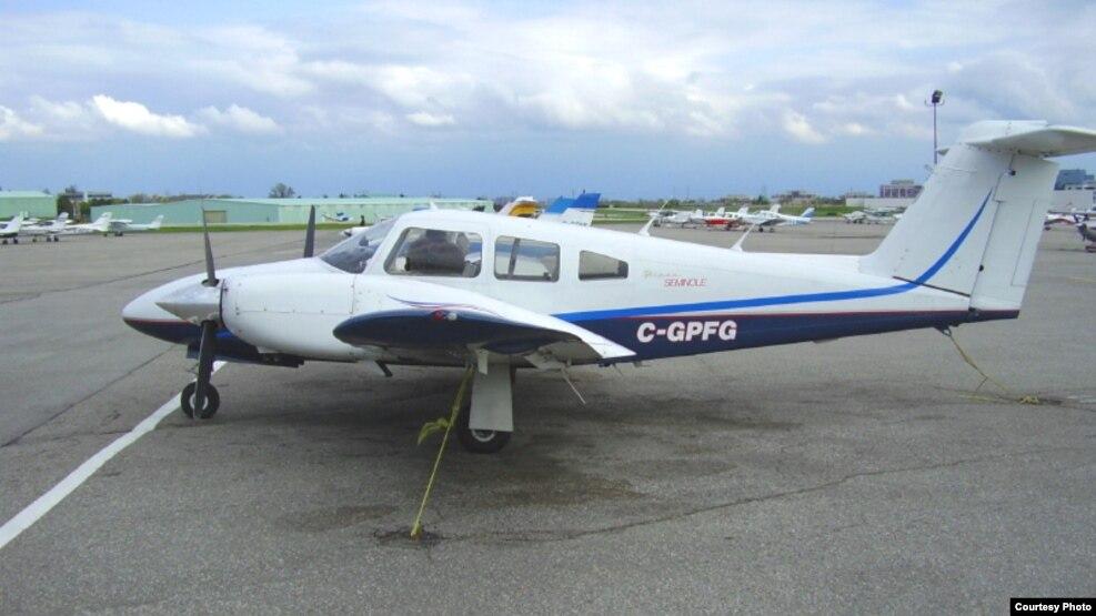 Rrëzohet një aeroplan privat në jug të Shkupit