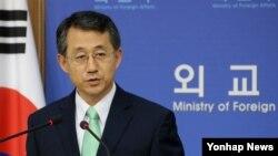 한국의 조태영 외교부 대변인 (자료사진)