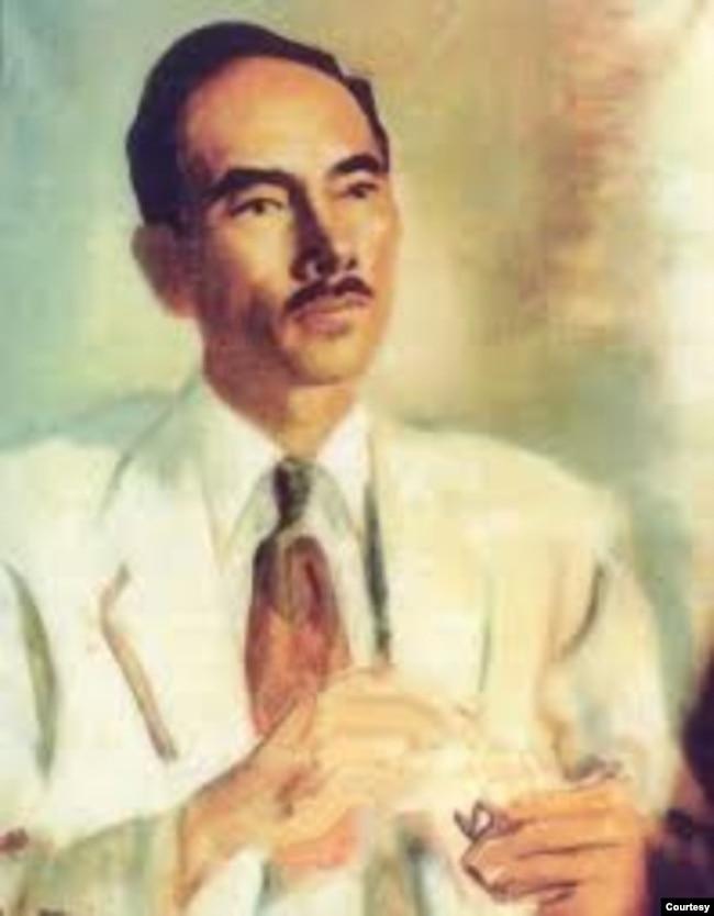 Chân dung Nhất Linh Nguyễn Tường Tam (1905* – 1963) của hoạ sĩ Nguyễn Gia Trí. [*Năm sinh đúng của Nhất Linh là 1906, tức năm Bính Ngọ, nhưng khai sinh ghi 1905]