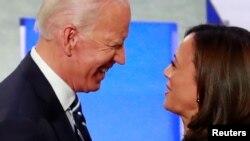 VaJoe Biden and Senator Kamala Harris