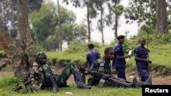 Tentara pemberontak di bagian timur Republik Demokratik Kongo yang diduga mendapat dukungan dari Rwanda (foto: dok).