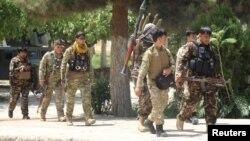 Afg'oniston xavfsizlik kuchlari. Qunduz viloyati, 22-iyun, 2021.