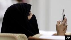 Saudiya Arabistoni poytaxti Riyodda matbuot anjumani... Qirollik axborot vositalari faoliyati eng cheklangan jamiyatlardan biri.