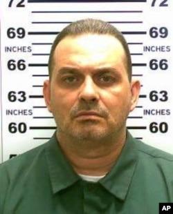 Foto Richard Matt, 48 tahun, yang dirilis Polisi negara bagian New York, 20 Mei 2015