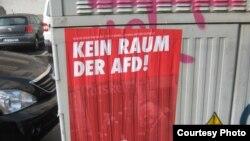 """Контрагитация против """"Альтернативы для Германии"""": """"AfD нет места!"""