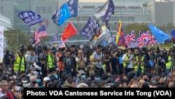 香港民主派立法会议员莫乃光批评,北京禁止三家美国传媒记者在港、澳采访,令香港社会运动的真相减少国际传媒曝光率。 (美国之音/汤惠芸)