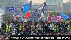 香港民主派立法會議員莫乃光批評,北京禁止三家美國傳媒記者在港、澳採訪,令香港社會運動的真相減少國際傳媒曝光率。 (攝影:美國之音湯惠芸)
