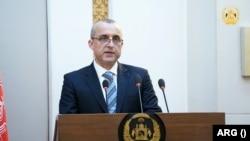 امرالله صالح د ولسمشر غني لومړی مرستیال