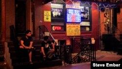 Chinatown Night Street Scene