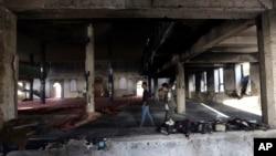 အာဖဂန္နစၥတန္ ၿမိဳ႕ေတာ္ကဘူးလ္က တိုက္ခိုက္ခံရတဲ့ Shiite ဗလီ။ (ၾသဂုတ္လ ၂၆-၂၀၁၇)
