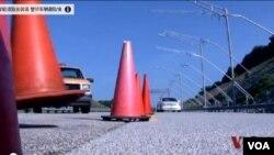 智能道路會說話 提醒車輛避險情
